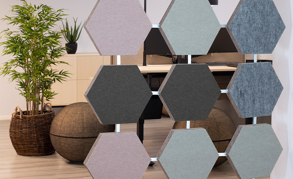 HONEY SPACE Vertical hanging sound absorbent